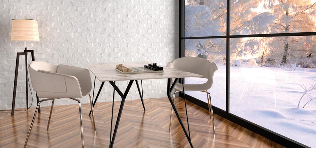jadalnia w minimalistycznym stylu